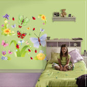 Fathead Butterflies Peel and Stick Wall Sticker
