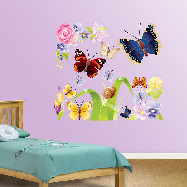 Fathead Butterflies Group One Wall Graphics - Wall Sticker Outlet