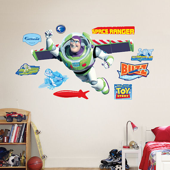 Toy Story Buzz Lightyear Wall Sticker - Wall Sticker Outlet