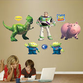 Toy Story Buzz Lightyear and Friends Wall Sticker