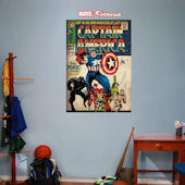 Fathead Captain America 100 Comic Book Cover