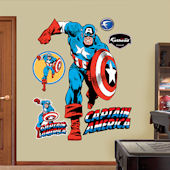 Captain America Fathead Wall Sticker