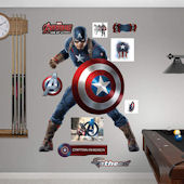 Fathead Avengers Age of Ultron Captain America