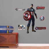 Fathead Avengers Age of Ultron Captain America Jr