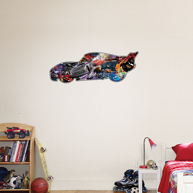 Fathead Disney Cars Movie Montage - Wall Sticker Outlet