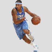 Fathead  Nuggets Carmelo Anthony  Wall Graphic