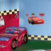 Disney Cars Lightning McQueen Fathead Junior