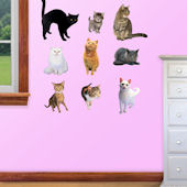 Fathead  Cats Wall Graphic
