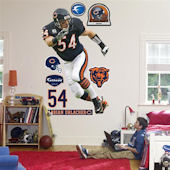 Fathead Chicago Bears Brian Urlacher Real Big Mura