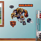 Fathead Chicago Bears Extreme Logo Real Big Mural