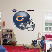 Fathead Chicago Bears Helmet Real Big Mural