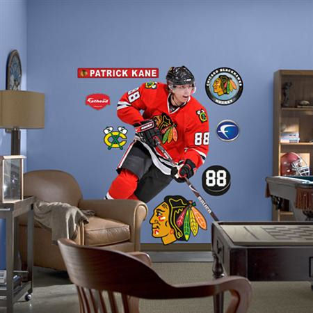 blackhawks wallpaper. Fathead Chicago Blackhawks