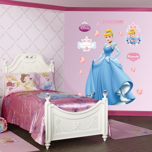 Fathead Disney Princess Cinderella Wall Graphic - Wall Sticker Outlet
