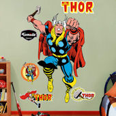 Classic Thor Fathead Wall Sticker