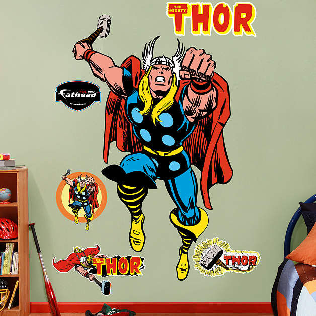 Classic Thor Fathead Wall Sticker - Wall Sticker Outlet