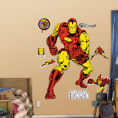 Fathead Classic Iron Man Wall Sticker
