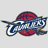 Fathead  Cleveland Cavaliers Logo Wall Graphic