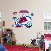 Fathead Colorado Avalanche Logo Wall Graphics