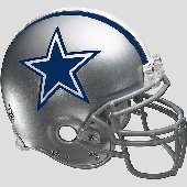 Fathead Dallas Cowboys Football Helmet Graphic