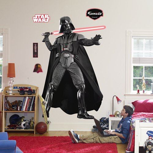 Fathead Star Wars Darth Vader Wall Graphic - Kids Wall Decor Store