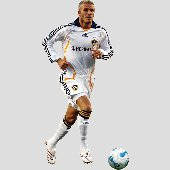 Fathead Galaxy David Beckham ActionWall Graphic