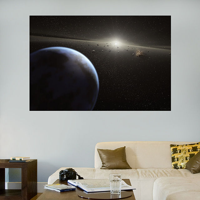 Fathead Deep Space Horizon Wall Graphic - Wall Sticker Outlet