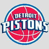 Fathead Detroit Pistons Logo Wall Graphic