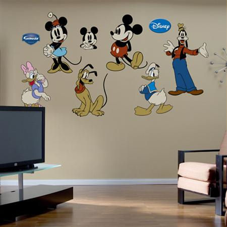 Fathead Disney Classic Mickey Mouse Wall Graphic - Wall Sticker Outlet