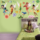 Fathead Disney Fairies Wall Graphic