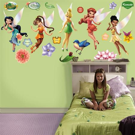 Fathead Disney Fairies Wall Graphic - Wall Sticker Outlet