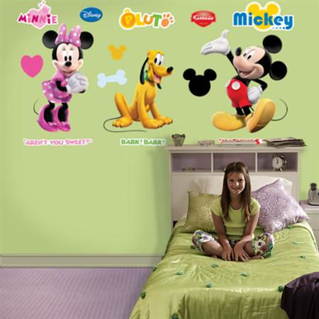 Fathead Disney Mickey Mouse Wall Graphic - Wall Sticker Outlet