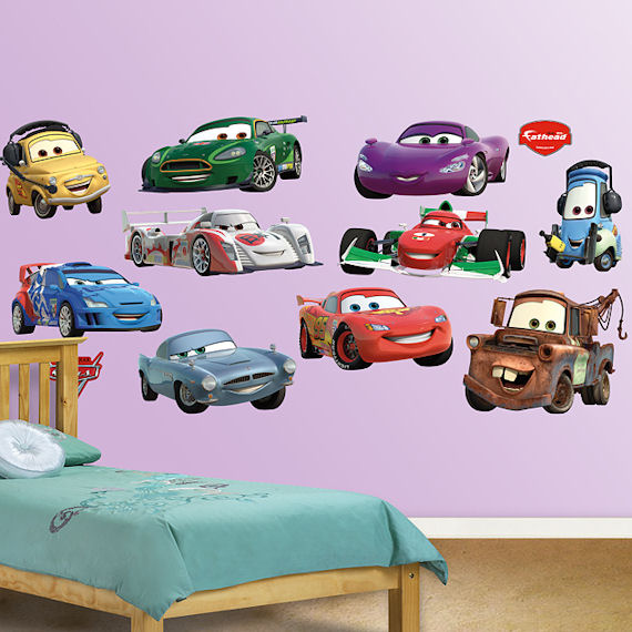 Disney Cars Collection Fathead Wall Sticker - Wall decals cars