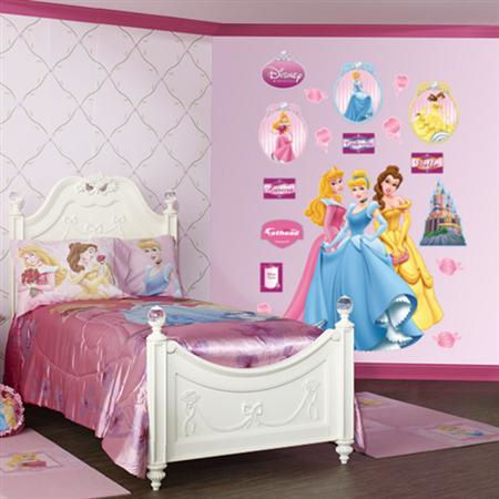 Fathead Disney Princesses Wall Graphic - Wall Sticker Outlet