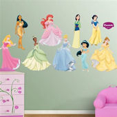 Fathead Disney Princesses Collections Wall Sticker