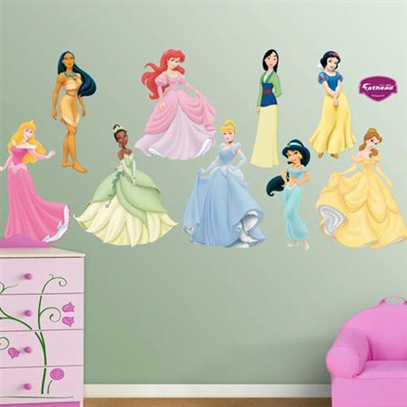 Fathead Disney Princesses Collections Wall Sticker - Wall Sticker Outlet