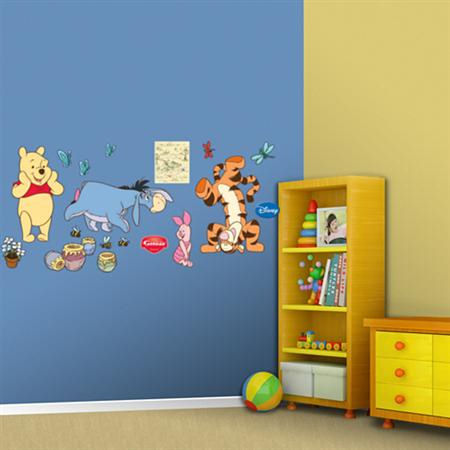 Fathead Disney Winnie the Pooh Wall Graphic - Wall Sticker Outlet