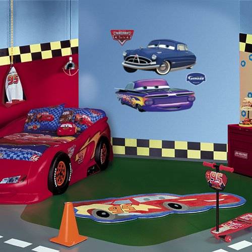 Fathead Disney Cars Doc and Ramone Wall Graphic - Wall Sticker Outlet