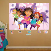 Fathead Dora and Friends Wall Mural Decal