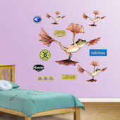 Fathead Flying Frog Wall Graphic