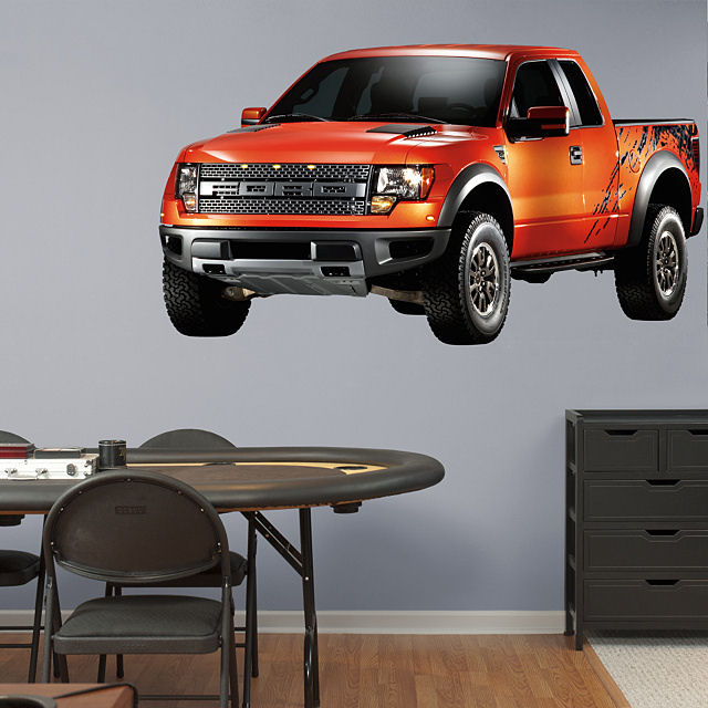 Fathead Ford F150 Raptor Wall Graphic - Wall Sticker Outlet