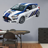 Fathead Ford Focus SR-R Racing Wall Graphic