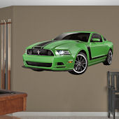Fathead Ford Mustang Boss 302 Wall Graphic
