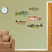 Fathead  Game Fish Wall Graphic