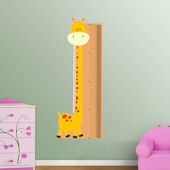 Fathead Giraffe Growth Chart Wall Graphic