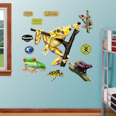 Fathead Golden Frog Wall Graphic