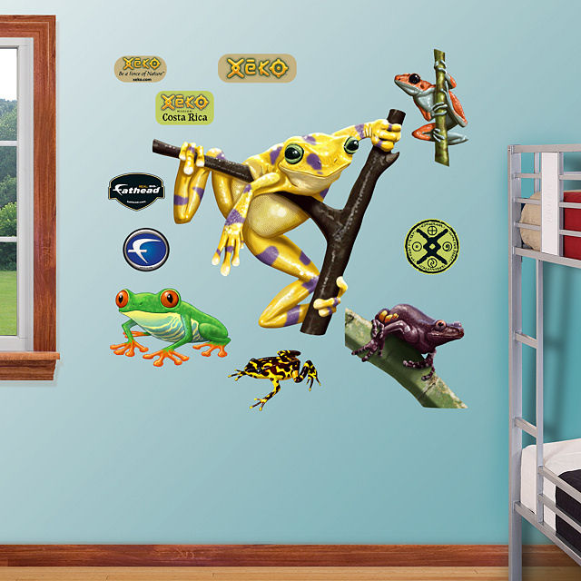 Fathead Golden Frog Wall Graphic - Wall Sticker Outlet