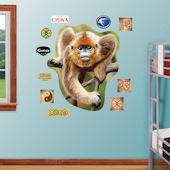 Fathead Golden Snub Nose Monkey Wall Graphic