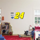 Fathead Gordon 24 Logo Wall Graphic
