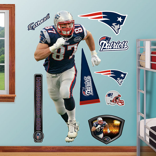 Fathead Rob Gronkowski New England Patriots - Wall Sticker Outlet