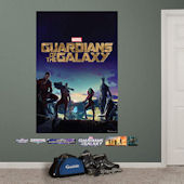 Fathead Guardians of the Galaxy Movie Poster